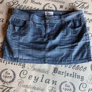 SO Juniors Jean Mini Skirt 15